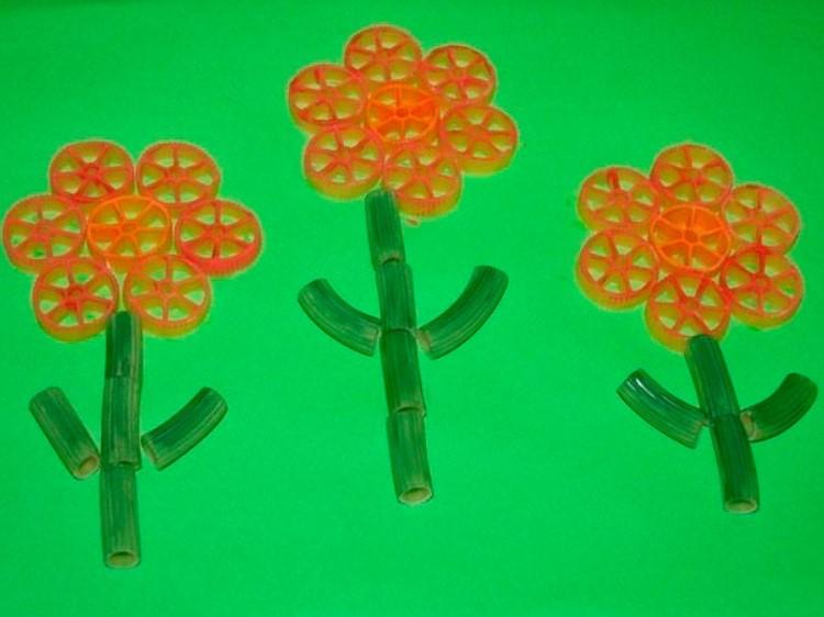 Детские поделки из макарон в картинках
